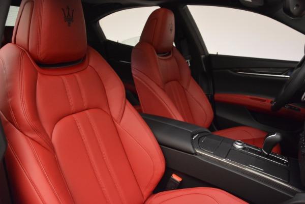 New 2017 Maserati Ghibli SQ4 for sale Sold at Alfa Romeo of Westport in Westport CT 06880 20