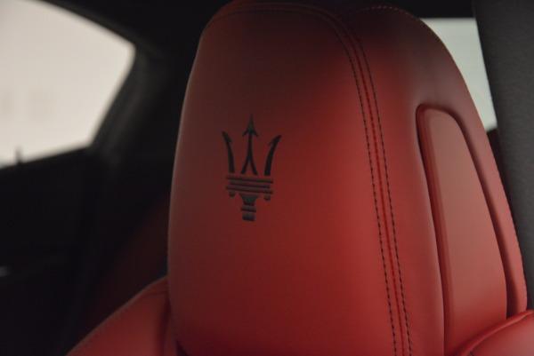New 2017 Maserati Ghibli SQ4 for sale Sold at Alfa Romeo of Westport in Westport CT 06880 21
