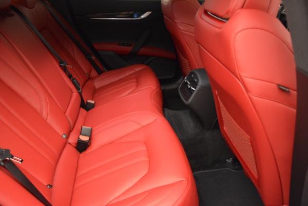 New 2017 Maserati Ghibli SQ4 for sale Sold at Alfa Romeo of Westport in Westport CT 06880 26