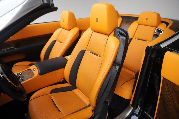 Used 2017 Rolls-Royce Dawn for sale $239,900 at Alfa Romeo of Westport in Westport CT 06880 21
