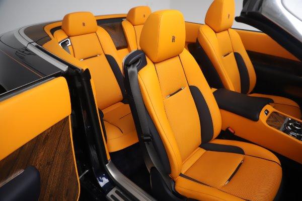 Used 2017 Rolls-Royce Dawn for sale $239,900 at Alfa Romeo of Westport in Westport CT 06880 22