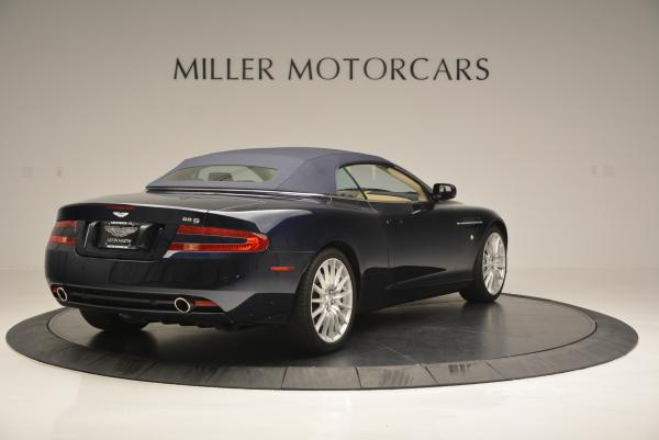 Used 2007 Aston Martin DB9 Volante for sale Sold at Alfa Romeo of Westport in Westport CT 06880 19