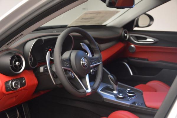 New 2017 Alfa Romeo Giulia Ti Q4 for sale Sold at Alfa Romeo of Westport in Westport CT 06880 15