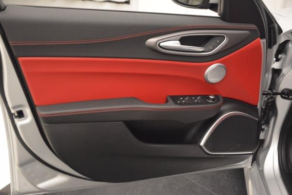 New 2017 Alfa Romeo Giulia Ti Q4 for sale Sold at Alfa Romeo of Westport in Westport CT 06880 23
