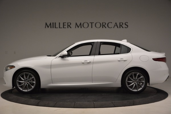 New 2017 Alfa Romeo Giulia Q4 for sale Sold at Alfa Romeo of Westport in Westport CT 06880 3