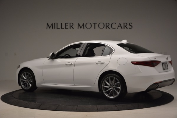 New 2017 Alfa Romeo Giulia Q4 for sale Sold at Alfa Romeo of Westport in Westport CT 06880 4