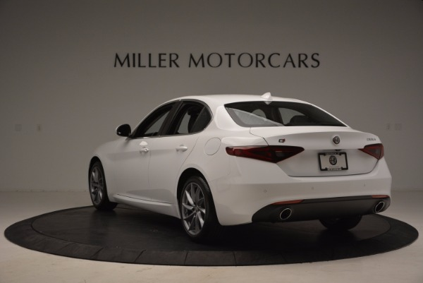 New 2017 Alfa Romeo Giulia Q4 for sale Sold at Alfa Romeo of Westport in Westport CT 06880 5