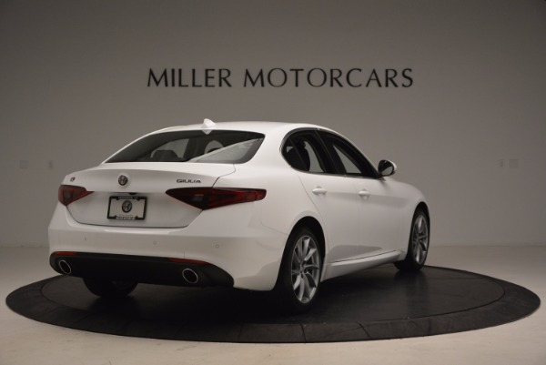 New 2017 Alfa Romeo Giulia Q4 for sale Sold at Alfa Romeo of Westport in Westport CT 06880 7