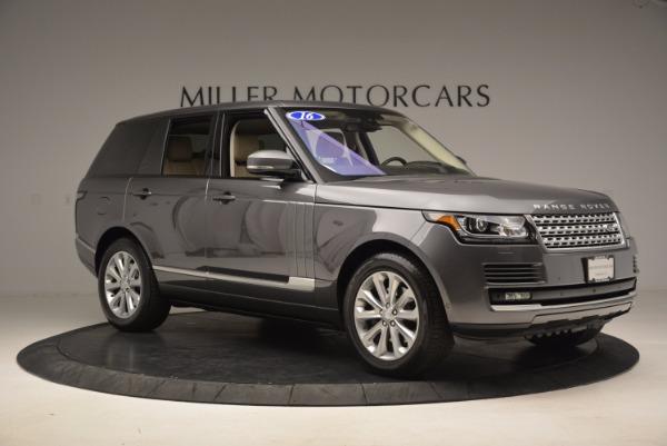 Used 2016 Land Rover Range Rover HSE TD6 for sale Sold at Alfa Romeo of Westport in Westport CT 06880 10