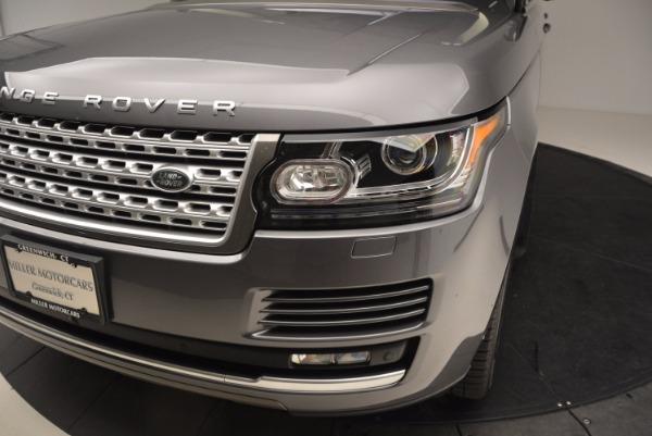 Used 2016 Land Rover Range Rover HSE TD6 for sale Sold at Alfa Romeo of Westport in Westport CT 06880 14