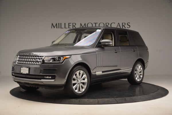 Used 2016 Land Rover Range Rover HSE TD6 for sale Sold at Alfa Romeo of Westport in Westport CT 06880 2