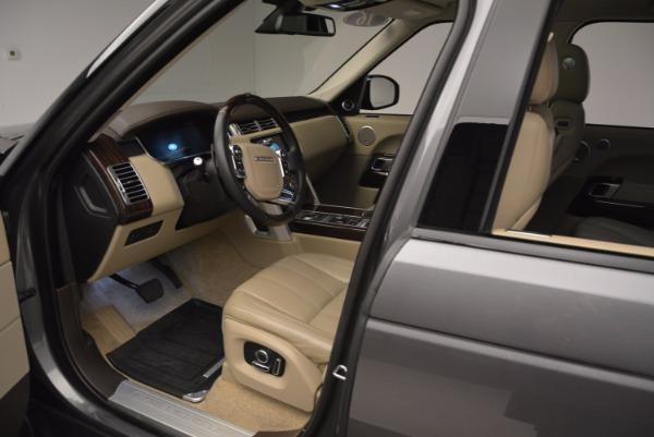 Used 2016 Land Rover Range Rover HSE TD6 for sale Sold at Alfa Romeo of Westport in Westport CT 06880 21