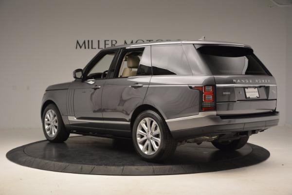 Used 2016 Land Rover Range Rover HSE TD6 for sale Sold at Alfa Romeo of Westport in Westport CT 06880 4