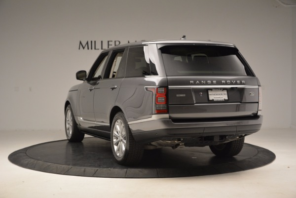 Used 2016 Land Rover Range Rover HSE TD6 for sale Sold at Alfa Romeo of Westport in Westport CT 06880 5