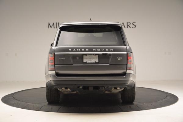Used 2016 Land Rover Range Rover HSE TD6 for sale Sold at Alfa Romeo of Westport in Westport CT 06880 6