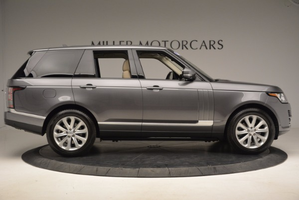 Used 2016 Land Rover Range Rover HSE TD6 for sale Sold at Alfa Romeo of Westport in Westport CT 06880 9