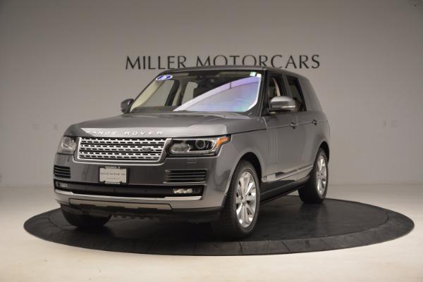 Used 2016 Land Rover Range Rover HSE TD6 for sale Sold at Alfa Romeo of Westport in Westport CT 06880 1